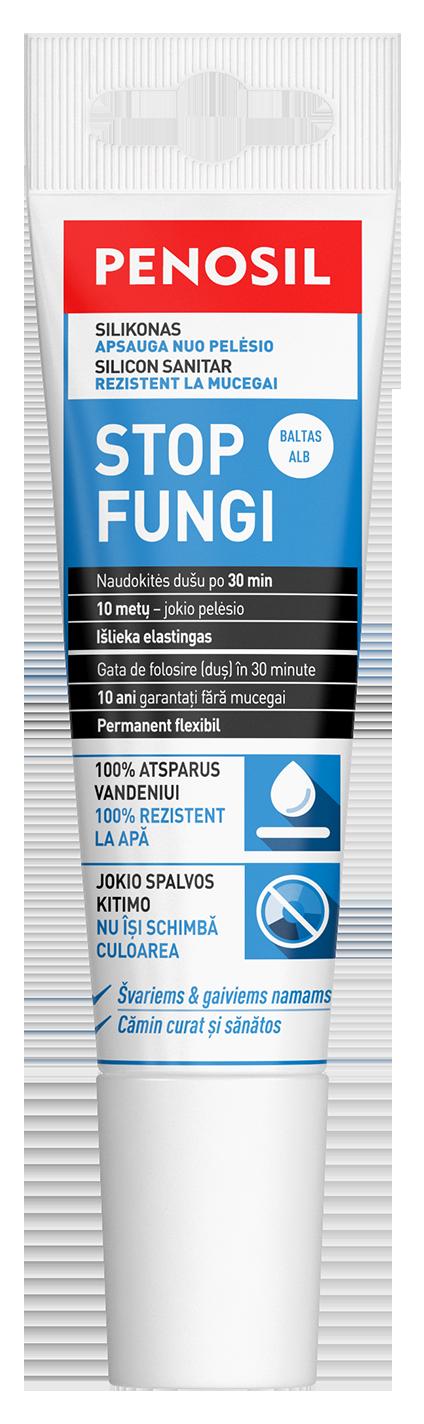 PENOSIL Stop Fungi priešpelėsinis silikoninis hermetikas tūtelėje