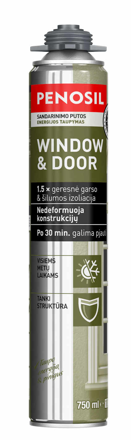 Penosil Window & Door Elastic montāžas putas