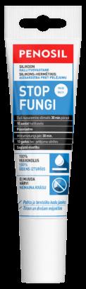 PENOSIL Stop Fungi sanitārais silikona hermētiķis tīrai un veselīgai vannasistabai