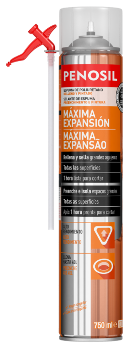 PENOSIL Max Gap Filler Foam Sealant 750ml ES-PT