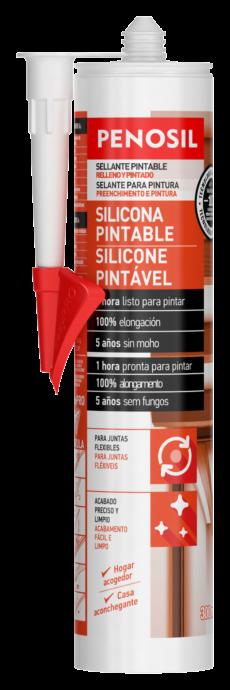 PENOSIL Silicona Pintable 300ml ES-PT