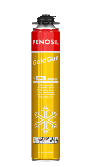 Penosil GoldGun Winter PU-foam with strong adhesion for -18°C conditions