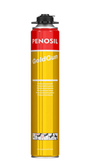 Penosil GoldGun Iconic gun foam with fast curing and strong adhesion