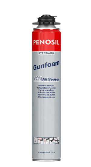PENOSIL Standard Gunfoam All Season a good price-quality ratio foam
