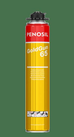 Kvaliteetne polüuretaanvaht Penosil GoldGun 65, suurema väljatulekuga, sobib enamikesse rasketesse oludesse. Lugege lähemalt.