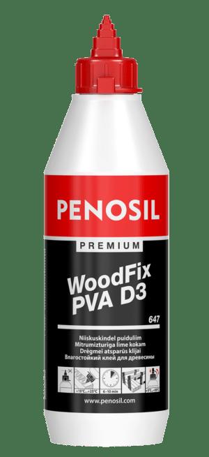 Penosil Premium WoodFix PVA D3 647 kosteutta kestävä puuliima