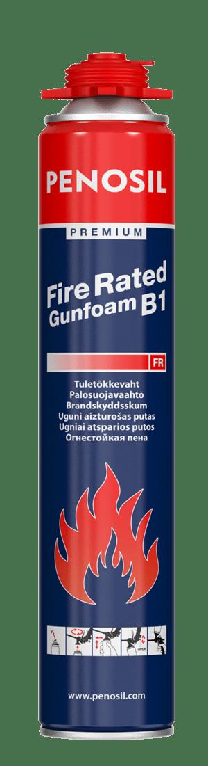 Penosil Premium Fire Rated Gunfoam on vähän jälkilaajeneva ja nopeasti kovettuva