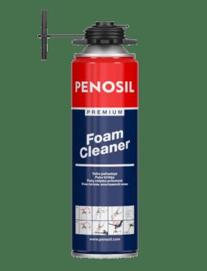 PENOSIL Premium Foam Cleaner kovettumattoman asennusvaahdon poistoon.