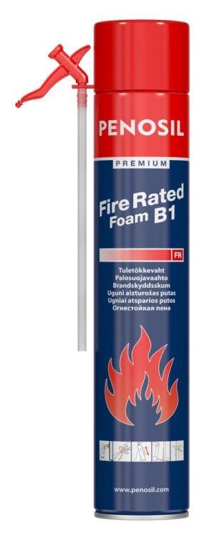 Pillivaahto PENOSIL Premium Fire Rated eristystöihin, joiden tuloksen on oltava palonkestävä.