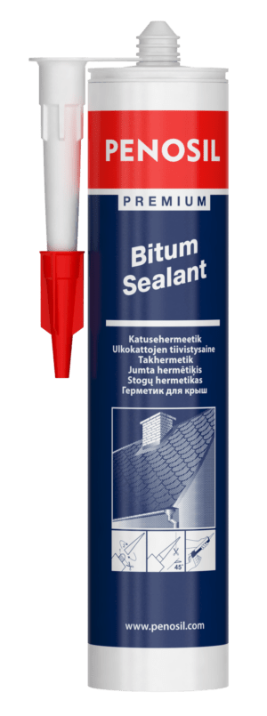 PENOSIL Premium Bitum Sealant – saumausmassa bitumipohjaisille pinnoitteille