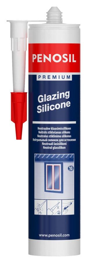 PENOSIL Premium Glazing elastingas silikonas stiklinimui