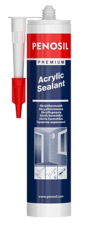 PENOSIL Premium Acrylic Sealant dažomas akrilinis hermetikas