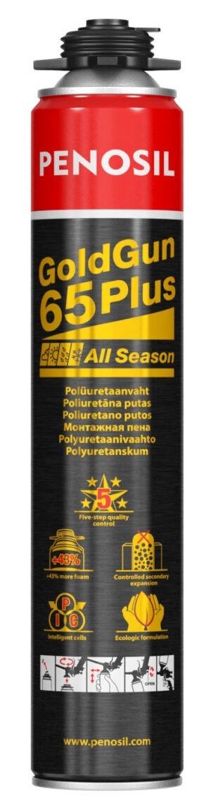 Penosil GoldGun 65 Plus ypač didelės išeigos poliuretano putos