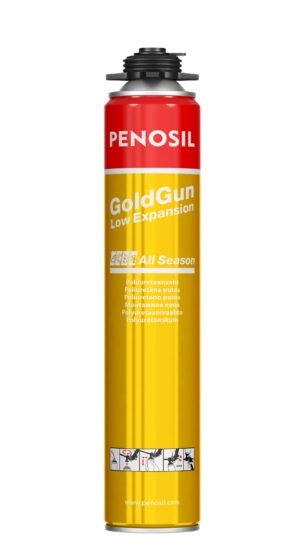 Penosil GoldGun Low Expansion All Season mažo plėtimosi sandarinimo putos