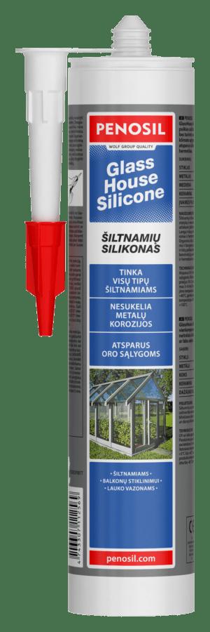 Penosil GlassHouse Silicone šiltnamių silikonas stiklinimui