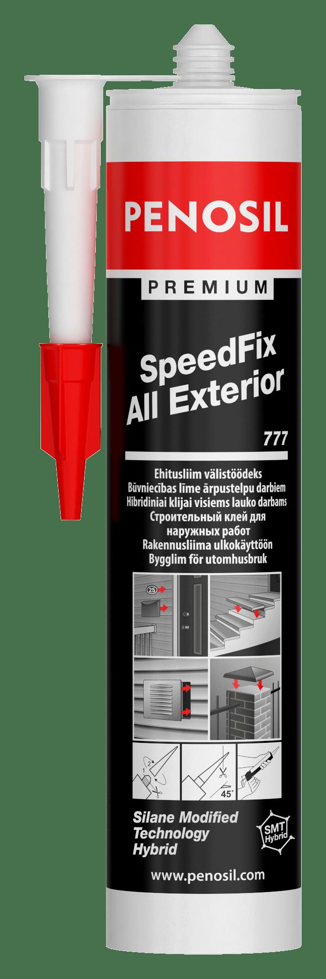 Penosil Premium SpeedFix All Exterior 777 klijai lauko darbams