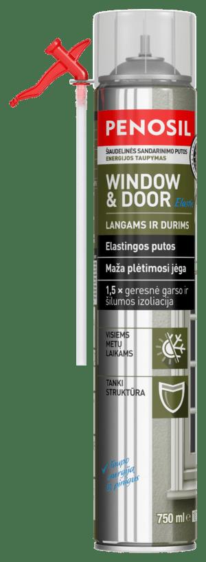 Penosil Window & Door elastingos šiaudelinės statybinės putos