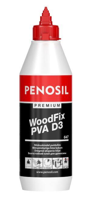 Premium WoodFix PVA D3 647 medienos klijai