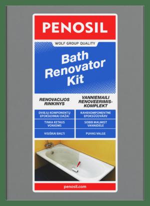 Bath Renovator KIT vonios emalės atnaujinimo rinkinys