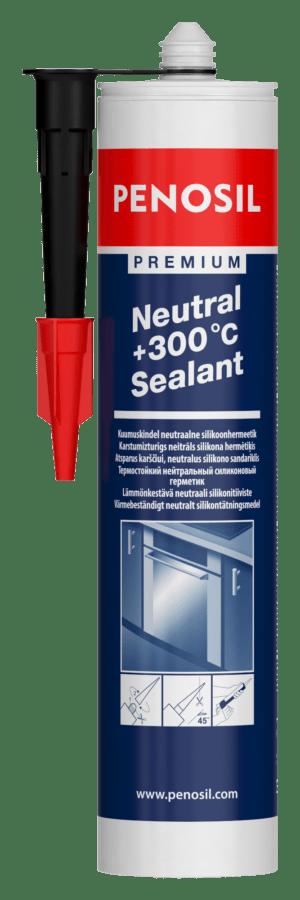 Penosil Premium +300°C Neutral Sealant neutralus hermetikas, atlaikantis aukštą temperatūrą