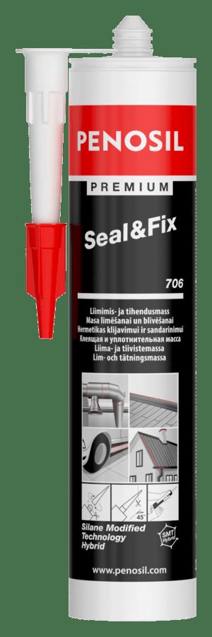Premium Seal&Fix 706 didelio elastingumo klijuojantis hermetikas