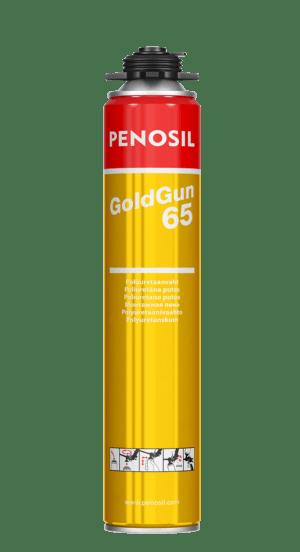 Penosil GoldGun 65 Poliuretāna putas ar lielāku izpūsto putu apjomu.