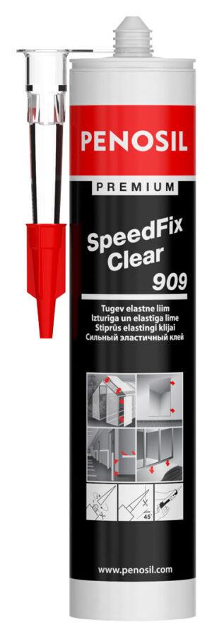 Penosil Premium SpeedFix Clear 909 Caurspīdīga līme ar ātru spēcīgu saķeri