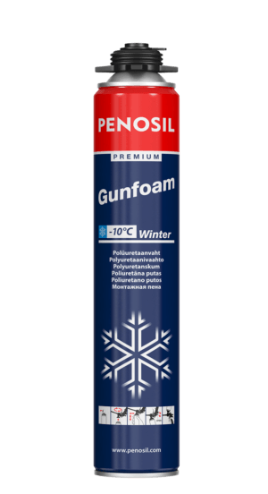 PENOSIL Premium Gunfoam Winter -siltuma un skaņas izolācijas putas