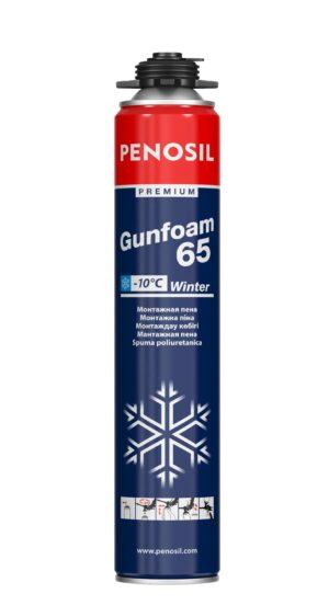 PENOSIL Premium Gunfoam 65 Winter Ziemas PU putas ar lielāku izpūsto putu apjomu