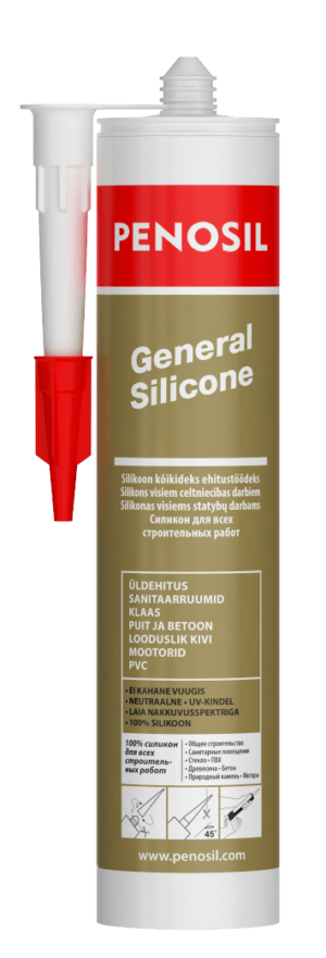 PENOSIL General Silicone plaša pielietojuma neitrāls silikons