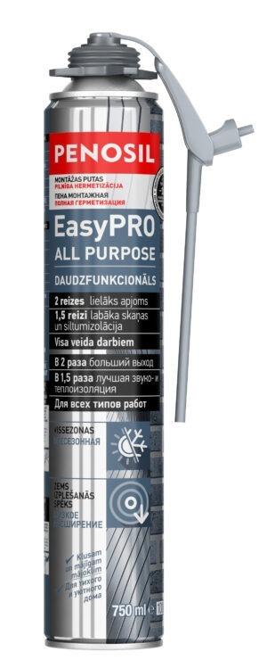 PENOSIL EasyPRO All Purpose putu hermētiķis ar unikālu EasyGun aplikatoru