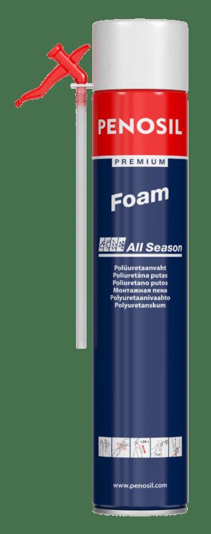 PENOSIL Premium Foam All Season putas ar salmiņaplikatoru izolācijas darbiem