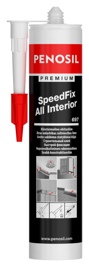 Penosil Premium SpeedFix All Interior 697 adeziv pentru lurcări de interior