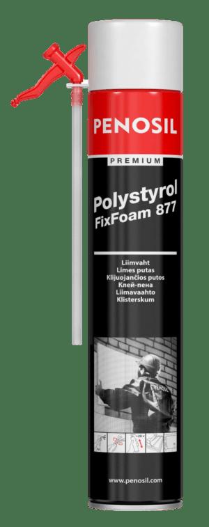 Premium Polystyrol FixFoam 877 adeziv spumă de pai pentru plăci de izolare