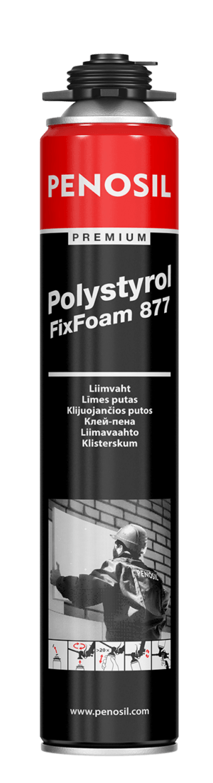 Клей PENOSIL Premium Polystyrol FixFoam 877