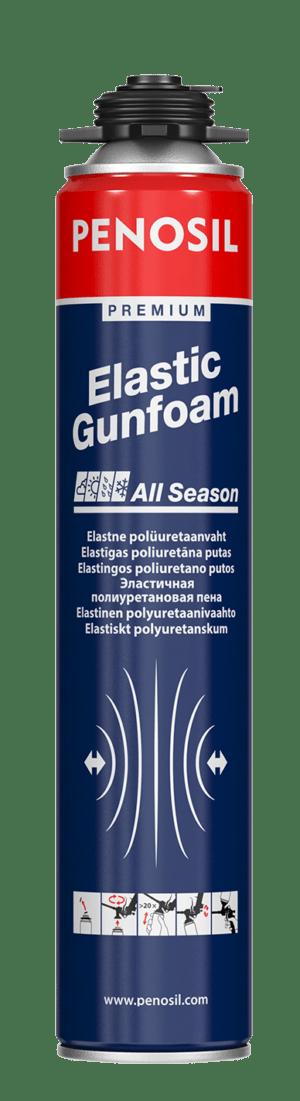 Penosil Premium Elastic Gunfoam is an easily compressible elastic insulation foam