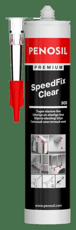 Прозорий клей PENOSIL Premium SpeedFix Clear 909