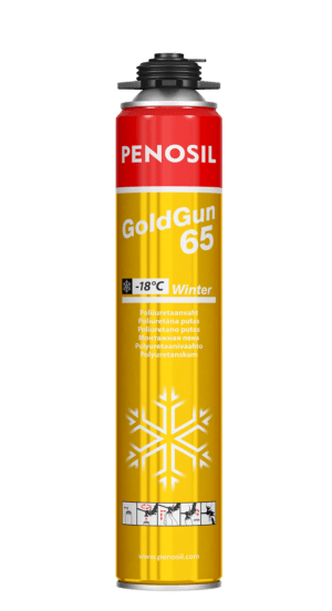 Penosil GoldGun 65 Winter polyurethane foam for -18°C conditions