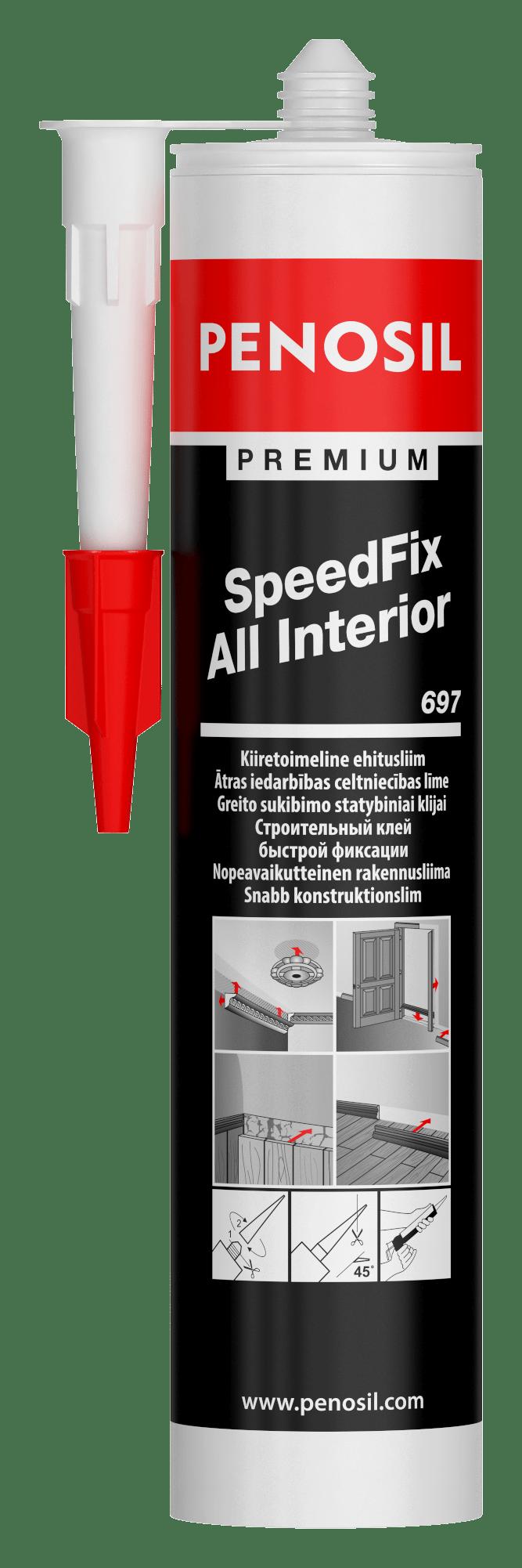 Penosil SpeedFix All Interior 697 adhesive