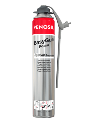 Penosil EasyGun Foam All Season Foam sealant with unique thin applicator