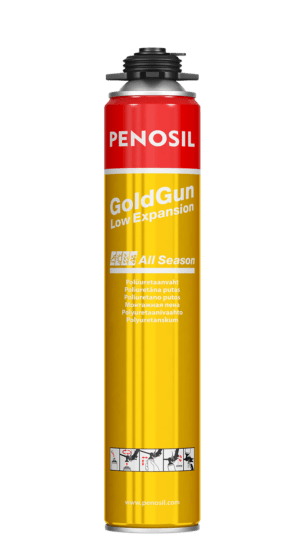Penosil GoldGun Low Expansion All Season strong polyurethane foam