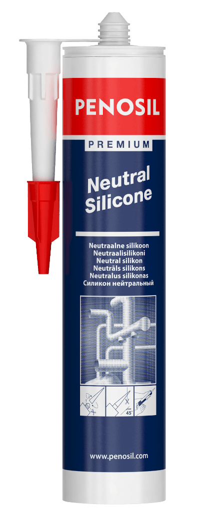 PENOSIL Premium Neutral curing silicone sealant with great adhesion.