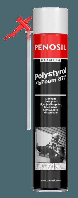 Клей-пена трубочный PENOSIL Premium Polystyrol FixFoam 877