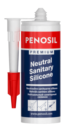 PENOSIL Premium mould resistant Neutral curing sanitary silicone.