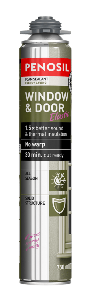 PENOSIL Window & Door Elastic foam sealant - EasyPRO