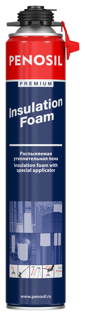 Penosil Premium Insulation foam with special spray-applicator
