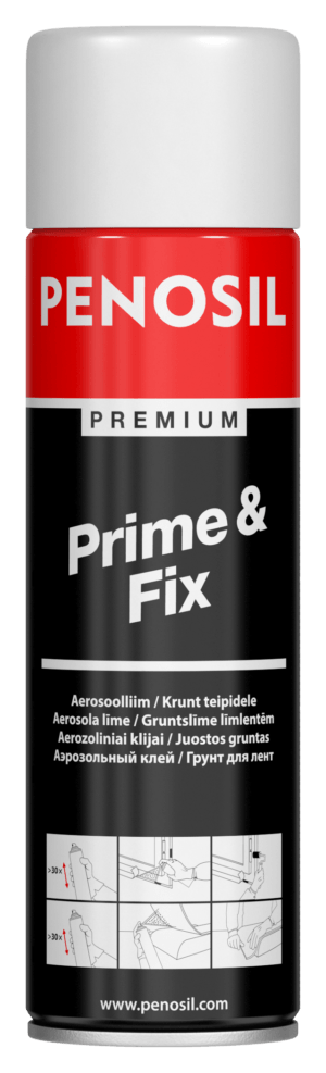 PENOSIL Prime&Fix is general purpose spray adhesive