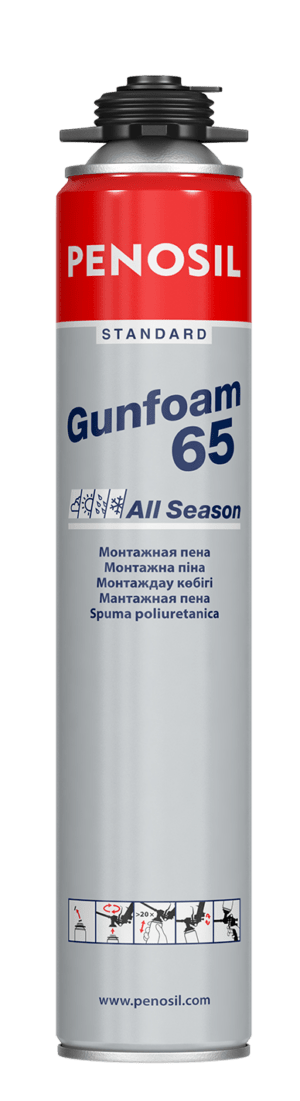 PENOSIL Standard Gunfoam 65 All Season foam with increased output