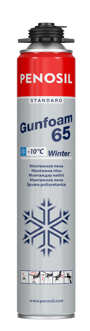PENOSIL Standard Gunfoam Winter a good price-quality ratio foam