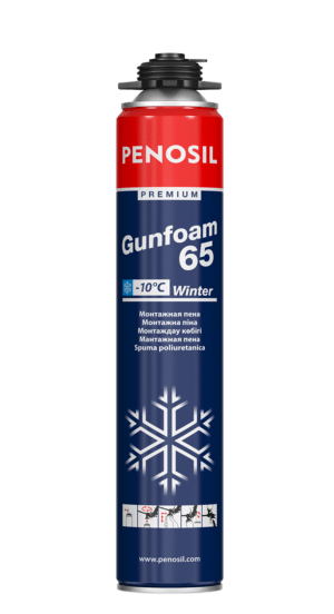 Penosil GoldGun 65 Winter polyurethane foam for -18°C conditions